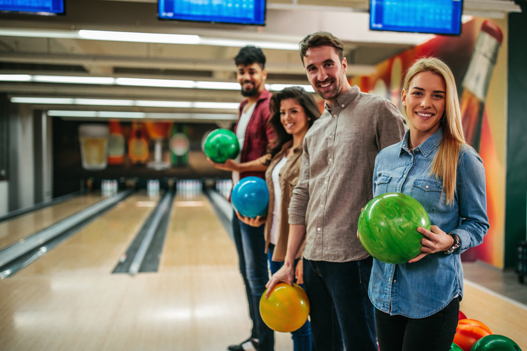 group bowling